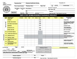 FI-48 Employee Reimbursement Request thumbnail image