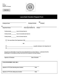 fi11 leave donation form fi11 leave donation form thumbnail image - Employee Leave Form