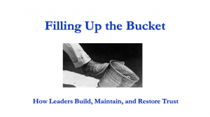 Filling Up the Bucket webinar link