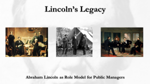Lincoln's Legacy webinar link