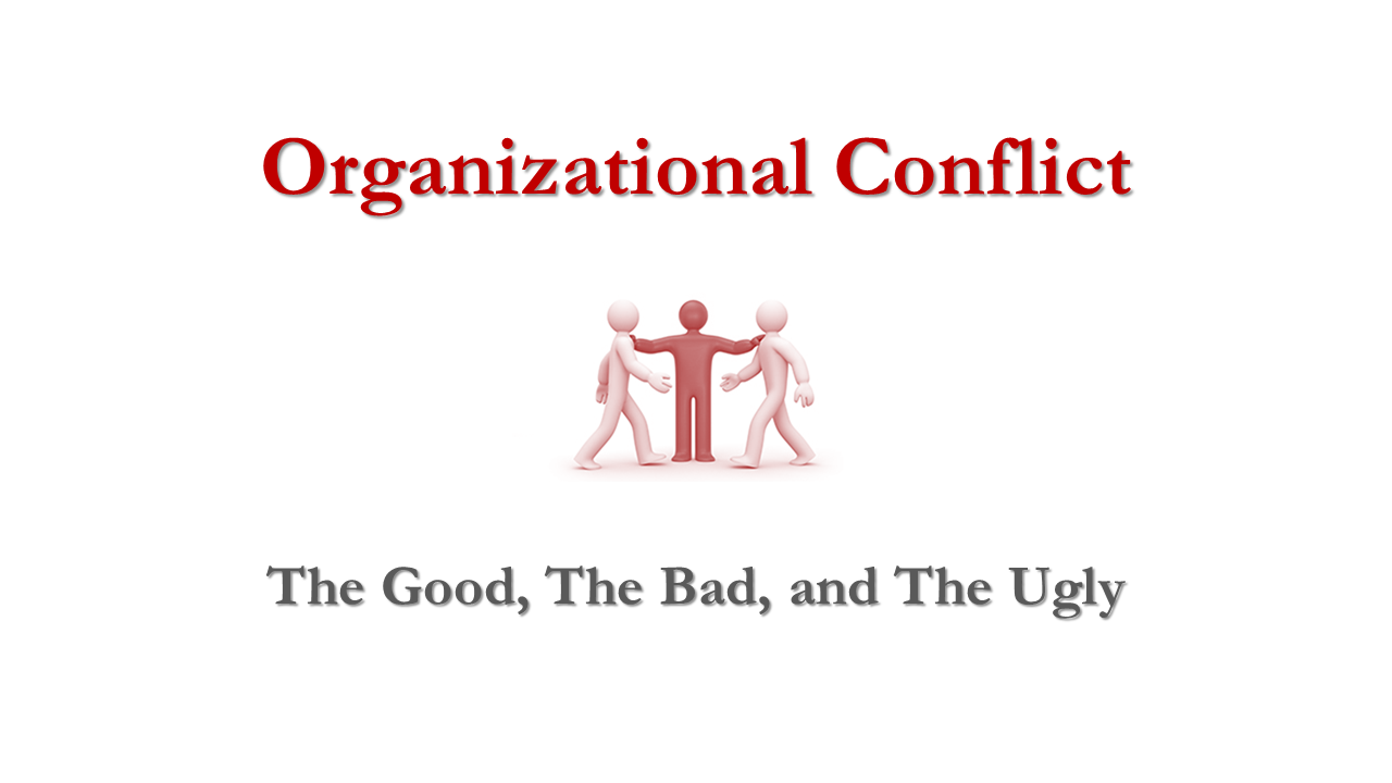 conflicts in organizations are a necessary evil discuss A necessary cause of conflict behavior is that without which the conflict behavior would not occur there are a number of necessary causes that operate throughout or in various phases and subphases of the conflict process, as shown in the phase map.