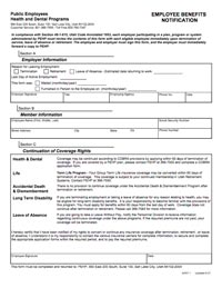 PEHP Exiting Employment Form thumbnail image
