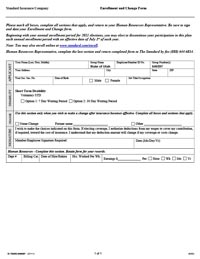 ... Short Term Disability Enrollment Form Thumbnail Image