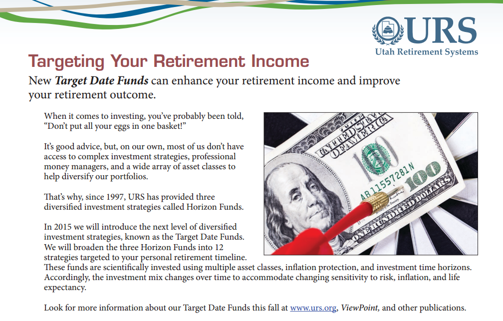 Targeting Your Retirement Income - Sept-Oct 2014